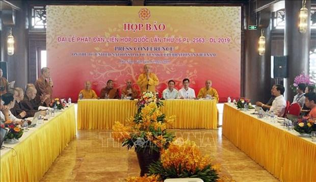 2019年联合国卫塞节:强化越南佛教在融入国际进程中的作用 hinh anh 1