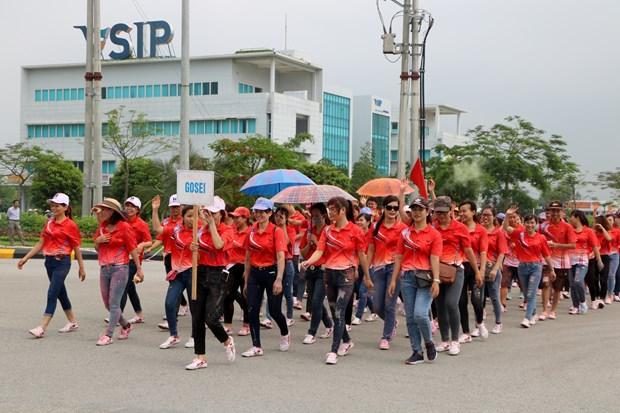 越南各地纷纷举行2019年工人月各项切实活动 hinh anh 2