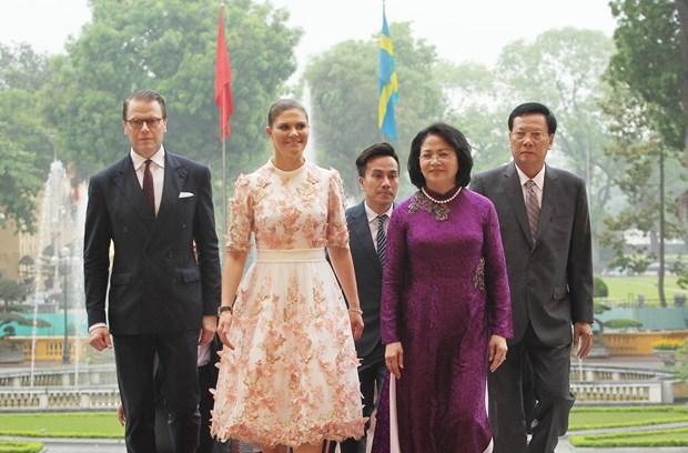 越南重视加强与瑞典的传统友好关系 hinh anh 1
