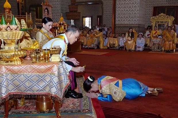 泰国国王哇集拉隆功为王室成员赐予新封号 hinh anh 2