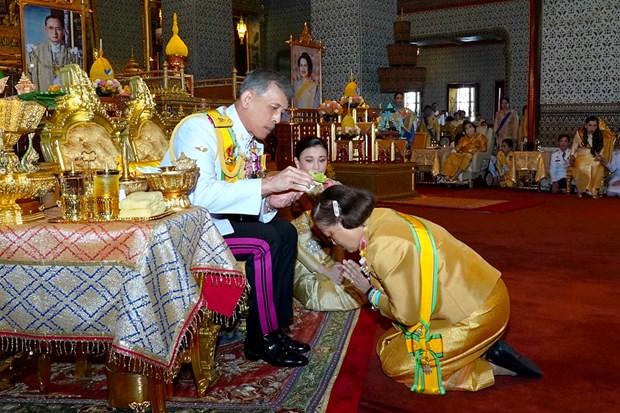 泰国国王哇集拉隆功为王室成员赐予新封号 hinh anh 1
