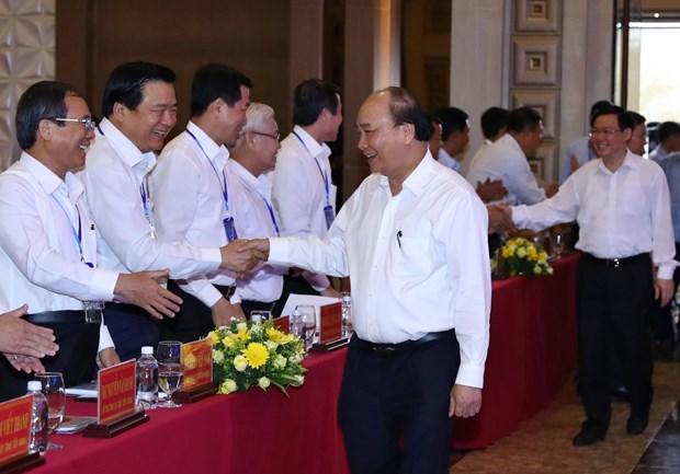 阮春福总理主持南部重点经济区发展会议 hinh anh 2