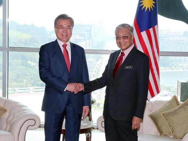韩国推进与马来西亚和菲律宾的FTA谈判 hinh anh 1