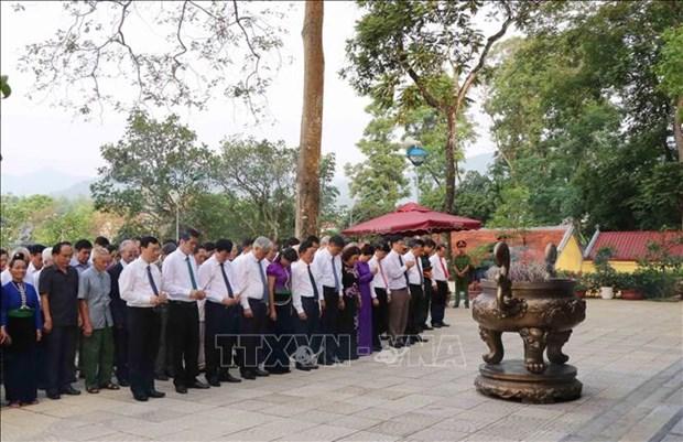 胡伯伯探望西北地区60周年纪念日在山罗省举行 hinh anh 1
