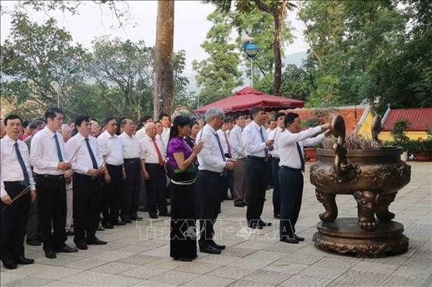 胡伯伯探望西北地区60周年纪念日在山罗省举行 hinh anh 2