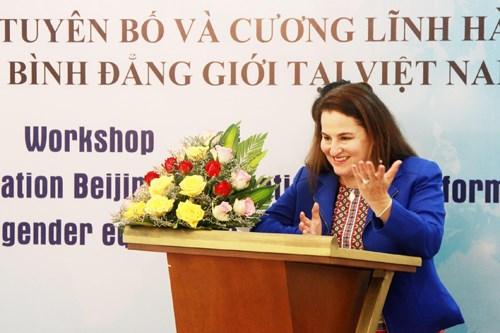 越南妇女的地位日益得到提升 hinh anh 2