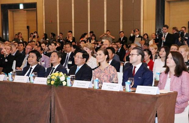 越瑞工商峰会:致力于可持续发展和改革创新 hinh anh 2