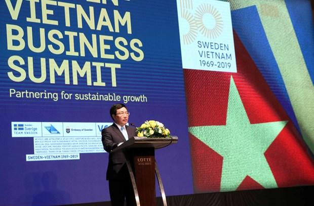 越瑞工商峰会:致力于可持续发展和改革创新 hinh anh 1