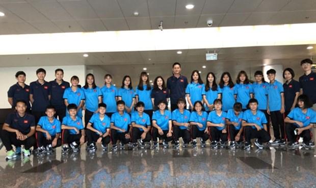越南U15女足力争入围2019东南亚U15女足锦标赛决赛圈 hinh anh 1