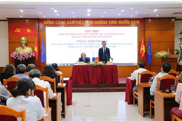 《森林执法、治理与贸易的自愿伙伴关系协定》谈判正式结束 hinh anh 1