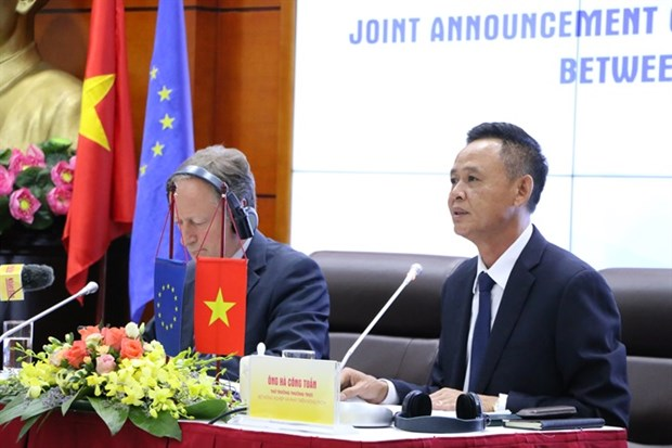 《森林执法、治理与贸易的自愿伙伴关系协定》谈判正式结束 hinh anh 2