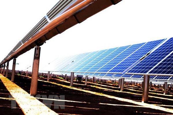 东南亚最具规模的太阳能发电厂项目将于今年6月底并网发电 hinh anh 1