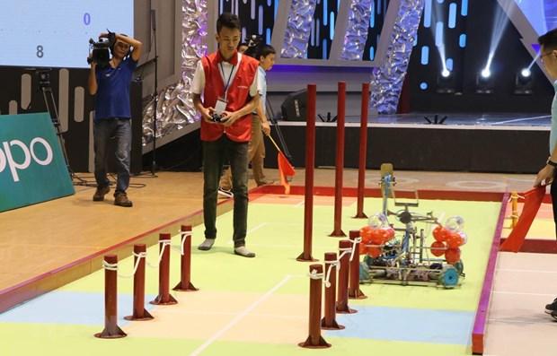 2019年越南机器人大赛正式开赛 hinh anh 2