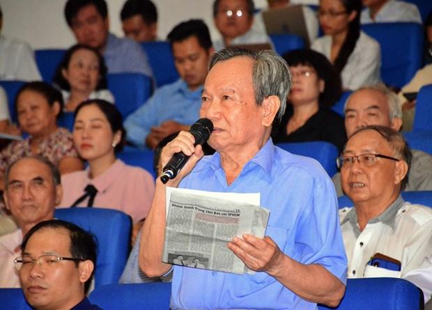 胡志明市选民希望反腐工作做得更严更深更实 hinh anh 2