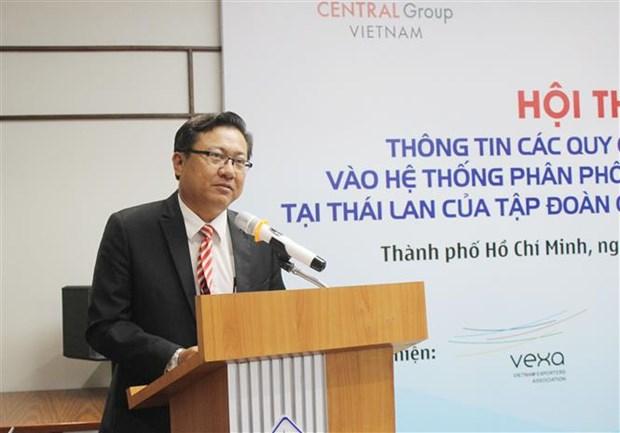 通过尚泰集团推动越南产品对泰国出口 hinh anh 2