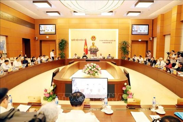 越南国会常委会第三十四次会议:第一季度GDP增速约达6.79% hinh anh 1