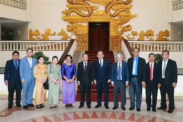 促进越柬睦邻友好、传统友谊、全面合作、长期稳定的关系发展 hinh anh 2