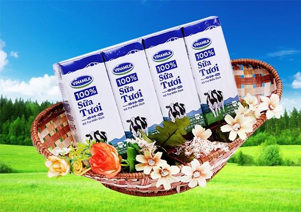 加强越南乳制品在国外市场上销售 hinh anh 1