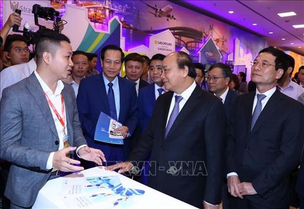 阮春福总理:科技企业是助推越南经济社会发展的重要因素 hinh anh 1
