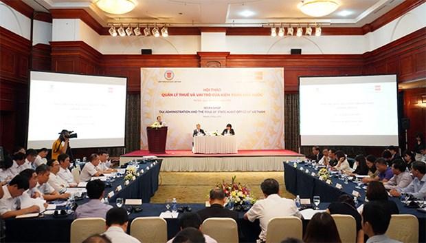 加强越南国家审计署的税收审计作用 hinh anh 1