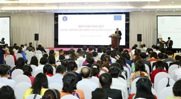 欧盟对越南卫生援助计划取得重要成果 hinh anh 1