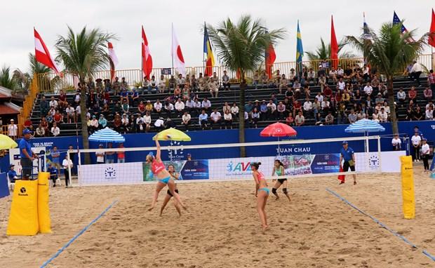 26支球队参加2019年广宁省巡洲世界女子沙滩排球锦标赛 hinh anh 2