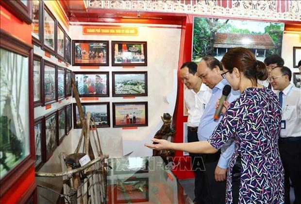 越南政府总理阮春福:清化省需不断提高实力和竞争力 hinh anh 3