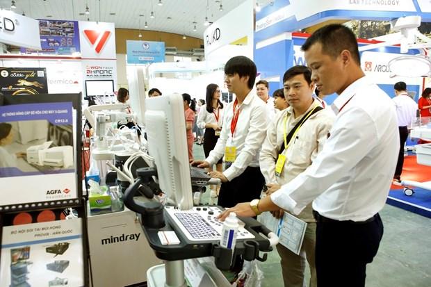 第26届越南国际医药工业展览会:助力提高人民健康水平 hinh anh 2