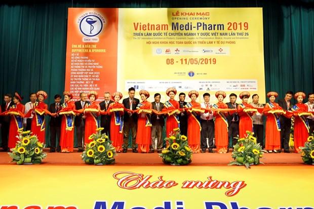 第26届越南国际医药工业展览会:助力提高人民健康水平 hinh anh 1