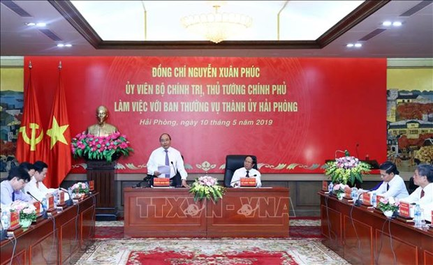政府总理阮春福:海防市需成为越南数字经济领先城市之一 hinh anh 1