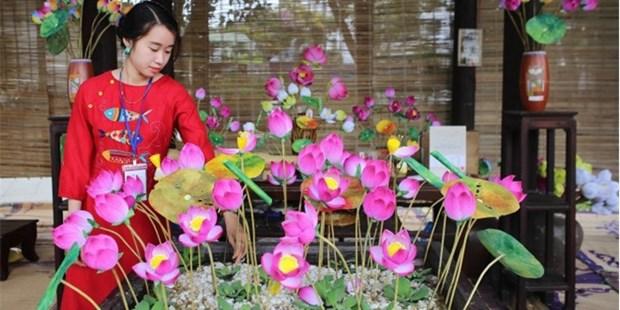 2019年顺化传统手工艺节的手工艺品 hinh anh 1