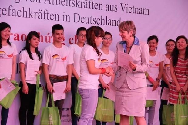 越南招聘230名护理员赴德国学习和工作 hinh anh 1