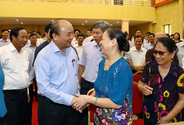 越南政府总理阮春福:发展的最终目的是为人民服务 hinh anh 1
