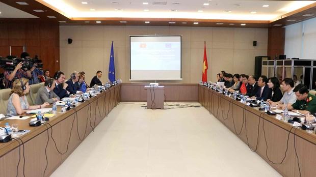 越南与欧盟加强全面合作与伙伴关系 hinh anh 1