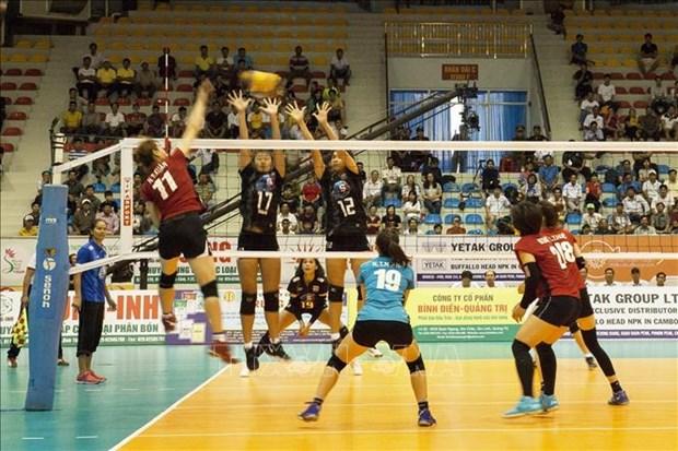 2019年平田VTV9杯国际女排比赛吸引国内外8支队参赛 hinh anh 2