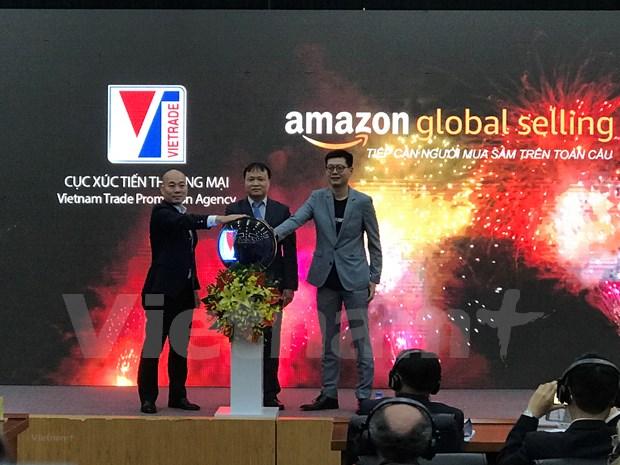 电子商务将越南品牌推向世界 hinh anh 1