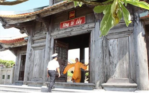 2019年联合国卫塞节:越南寺庙图片展展出越南寺庙建筑之美 hinh anh 3