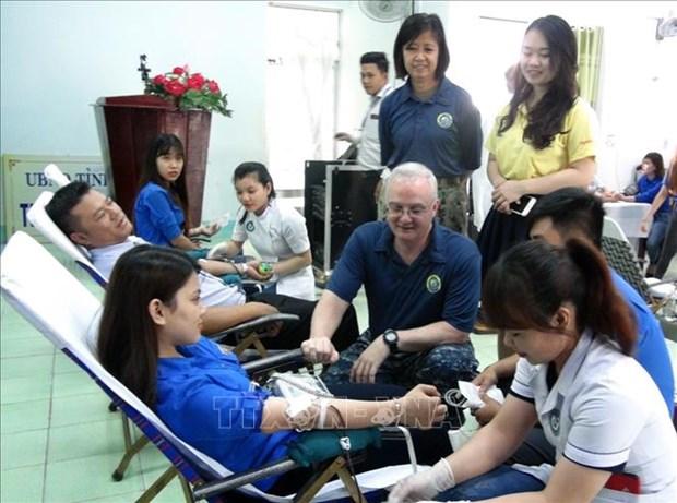 2019年太平洋伙伴计划在富安省开展医疗卫生帮扶活动 hinh anh 1