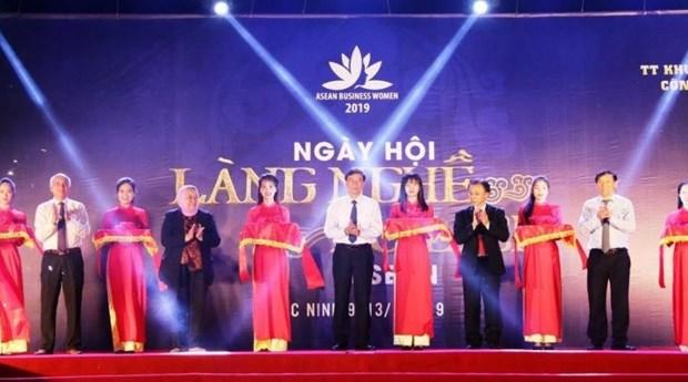 2019年东盟手工艺村旅游节在北宁省举行 hinh anh 1