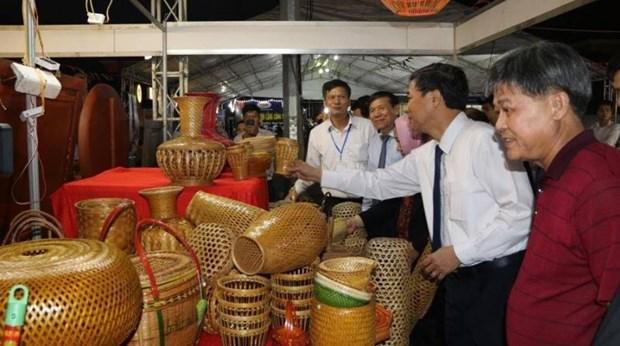 2019年东盟手工艺村旅游节在北宁省举行 hinh anh 2