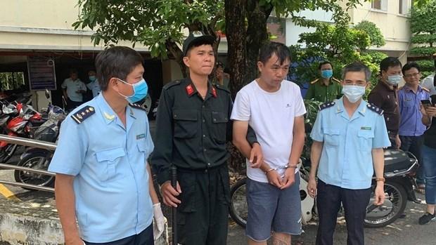 胡志明市:运输500公斤合成毒品的外国犯罪团伙被捕 hinh anh 1