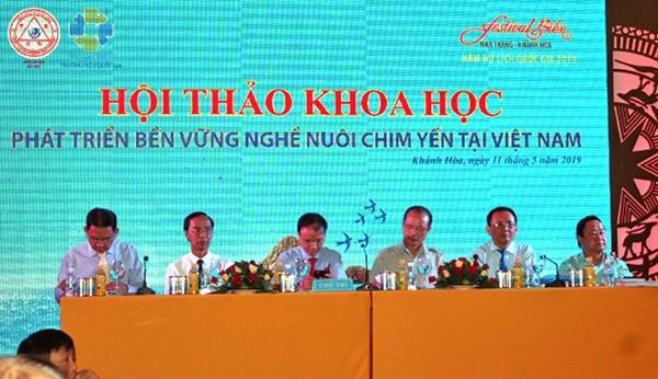 努力推动越南燕窝产业可持续发展 hinh anh 1