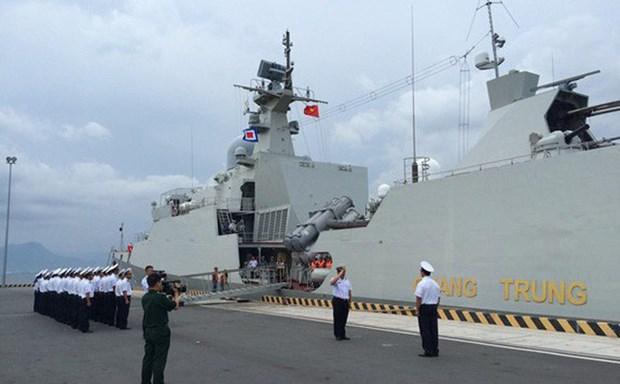 第四届东盟防长扩大会议海上安全实兵演习在新加坡结束 hinh anh 1