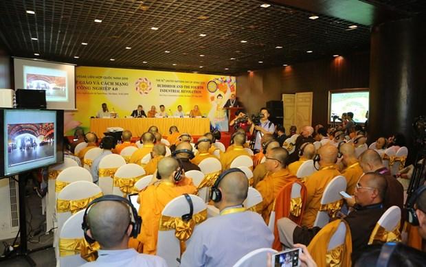 2019年联合国佛教大典:佛教与第四次工业革命 hinh anh 2