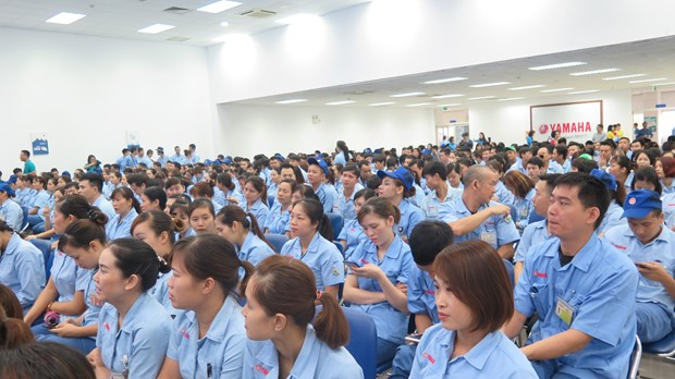 2019年工人月:河内市将妥善解决劳工关注的问题 hinh anh 2