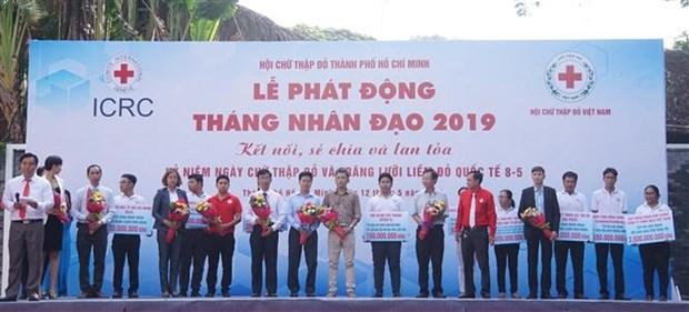 胡志明市正式启动2019年人道主义行动月 hinh anh 1