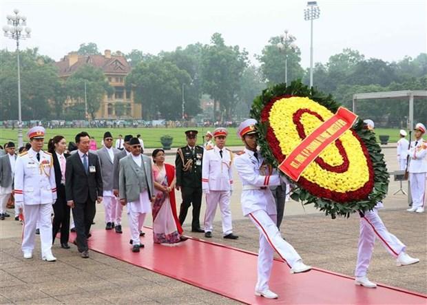 尼泊尔总理奥利圆满结束对越南进行的正式访问 hinh anh 2