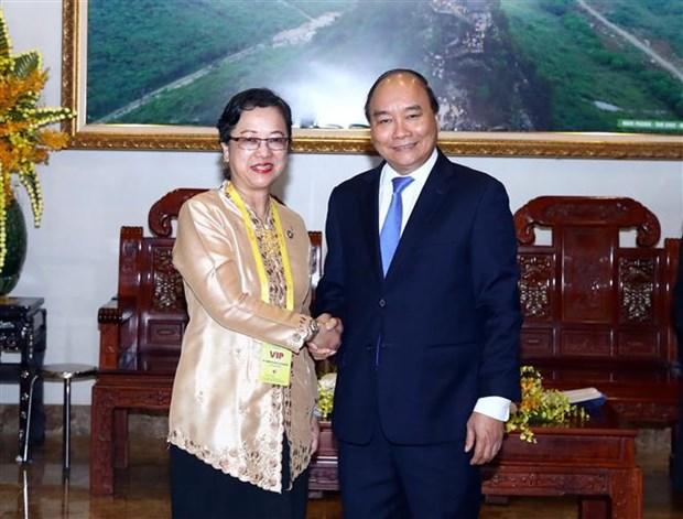 越南政府总理阮春福会见联合国副秘书长 hinh anh 1