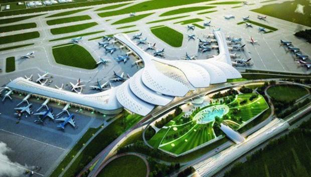 阮春福要求完善龙城国际航空港建设项目可行性研究报告 hinh anh 1