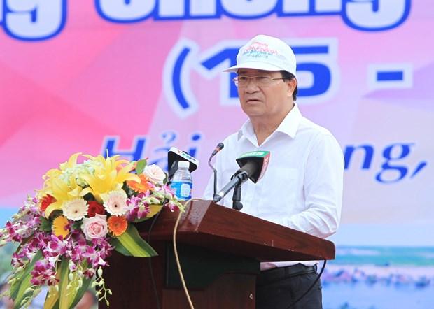 越南2019年防灾抗灾周正式启动 hinh anh 1